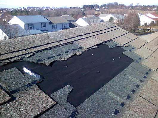Storm Damaged Roof / Lehigh Valley, PA